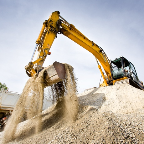 Construction Aggregate Earth Mover