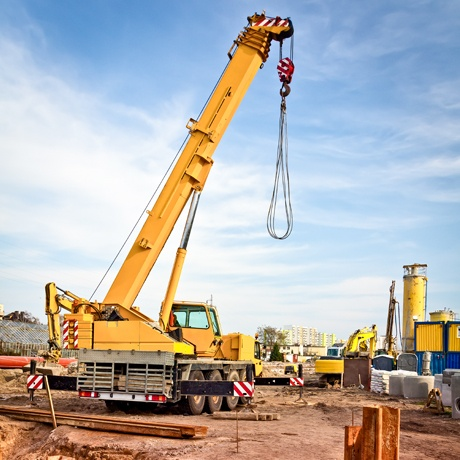 Construction Crane Mobile