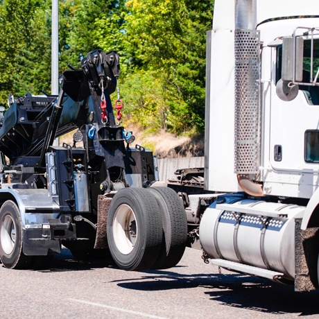 Transportation Towing Recovery Towing Semi