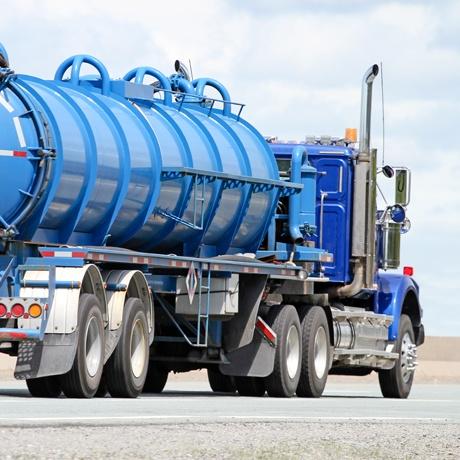 Waste Liquid Tanker Truck Haul Sewage