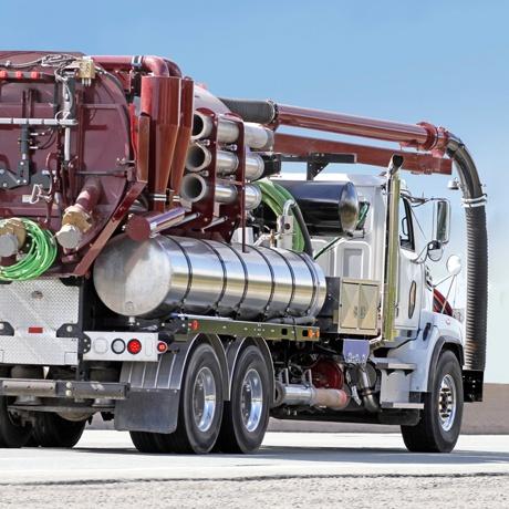 Waste Liquid Truck