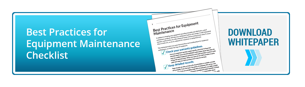 Equipment Maintenance Whitepaper Download