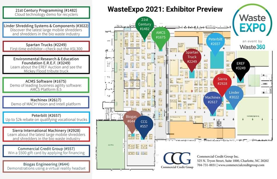 WasteExpo 2021 Infographic CCG