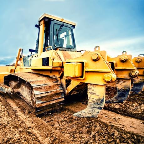 Construction Site Prep Excavation