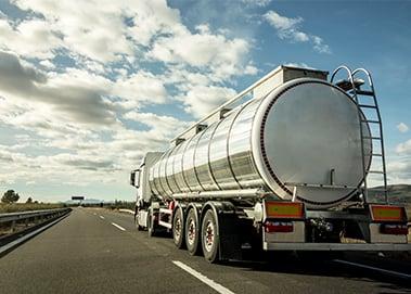 oilfield water hauler