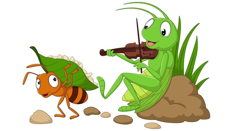 ant-grasshopper